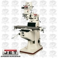 JET 690017 JTM-2 2HP 1PH 115/230V Mill PLUS X and Y Table Powerfeed