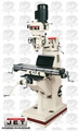 JET 690036 JVM-836-1 Vertical Milling Machine 1-1/2 HP, 1 PH, 115/230 V