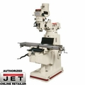JET 690068 JTM-4VS-1 Mill with 200S 3AXIS QUIL DRO X&Y TPFA