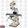 JET 690125 JTM-4VS Mill w/  200S DRO With X-Axis Powerfeed + Power Draw Bar