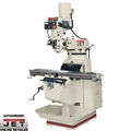 JET 690155 JTM1050EVS/230 3HP 3PH 230V Mill + 3-Axis  200S DRO, X-Y PwrFd