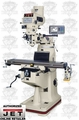 JET 690302 JTM-4VS 3HP 3PH 230/460V Milling Machine + 300S DRO, X and Y TPFA