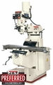 JET 690406 Vertical Milling Machine