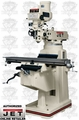 JET 691207 JTM-1050 3HP 3PH 230/460V Mill + DP700 3-Axis (Quill) DRO