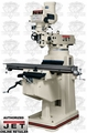 JET 691209 JTM-1050 3HP 3PH 230/460V Vertical Milling Machine