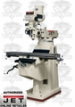 JET 691231 JTM-1050 3HP 3PH 460V Vertical Milling Machine