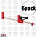 JET 70412 6pk Parallel Bar Clamp