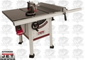 "JET 708494K JPS-10TS 10"" Proshop Tablesaw PLUS 30"" Fence, Cast Iron Wings"