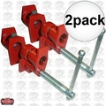 "JET 709827 2pk 1/2"" Pipe Clamp with Slip Clutch"