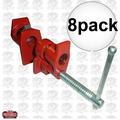 "JET 709827 8pk 1/2"" Pipe Clamp with Slip Clutch"