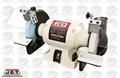 "JET 726100 JWBG-8 8"" Woodworking Bench Grinder 2 Norton Wheels"