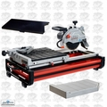 "Lackmond BEAST7 7"" Beast Bench Top Wet Tile Saw w/Side Table + Water Tray"