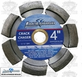 Lackmond CKV4250 Crack Chaser Diamond Wheel V-Shape 4''x.250