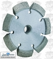 Lackmond CKV4375 V-Shaped Diamond Crack Chaser 4''x.375x7/8''-5/8''