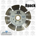 "Lackmond SG7SPL 8pk 7"" Segmented Diamond Blade"