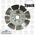 "Lackmond SG7SPL 2pk 7"" Segmented Diamond Blade"
