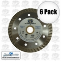 Lackmond TB4.5SPL 6pk Continous Rim Diamond Blade