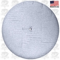 Lake Country 44-6650KR White Polishing Kompressor Foam Pad