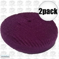 "Lake Country 44-8650KR 2pk 7"" Purple Heavy Compounding Kompressor Foam Pad"