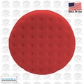 "Lake Country 78-1165-152M 6-1/2"" Red CCS Auto Buffing Pad"