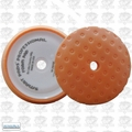 "Lake Country 78-24650C 7-1/2"" CCS Orange Curved Edge Foam Pad"