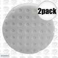 "Lake Country 78-6165-152M 2pk 6-1/2"" White CCS Auto Buffing Pad"
