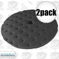 "Lake Country 78-74650C 2pk 7-1/2"" CCS Black Finessing Foam Pad"