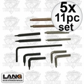 Lang Tools 14 5x 11pc Snap Ring Plier Replacement Tip Set Formerly known as Hi-Tech