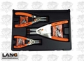 Lang Tools 1465 3 Piece Quick Switch Retaining Ring Pliers Set