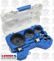 "Lenox 1200L 3/4"" - 4-3/4"" Deluxe 17 Piece Bi-Metal Hole Saw Kit 308021200L"