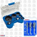 Lenox 1200P 147873 17pc Plumbers Hole Saw 3pc Plumber Utility Bit Set