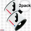 "Lenox 40L 2pk 2-1/2"" Bi-Metal Hole Saw 3004040L"