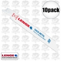 "Lenox 614R 2x 5pks 6"" x 14 TPI Bi-Metal Reciprocating Saw Blade"