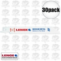 Lenox 618R 6x 5pk Bi-Metal Reciprocating Saw Blades