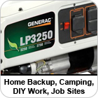 LP Series Portable Generators