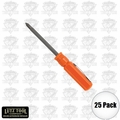 Lutz 2-IN-1 25pk Pocket Size Orange Screwdriver