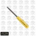 Lutz 2-IN-1 Pocket Size Yellow Screwdriver