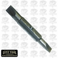 "Lutz 21102 1/4'' Slotted x 3/16"" Slotted Bit"