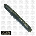 "Lutz 21103 1/4"" Slotted x #2 Phillips Bit"