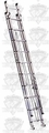 Lynn D1520-2 Extension Ladder