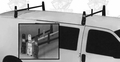 Lynn VR-1WHITE Van Ladder Racks