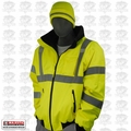 Majestic 75-1300-XL X-Large Hi Vis Bomber Jacket