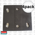 Makita 158324-9 4pk Replacement Backing Pad for BO4556