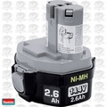 Makita 193158-3 14.4 Volt 2.6 Ah Ni-MH MForce # 1434 Battery Pack