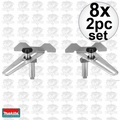 Makita 195253-5 8x 2pk Crown Stops for LS1216L