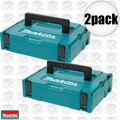 Makita 197210-9 2pk Interlocking Modular Tool Case (Small)