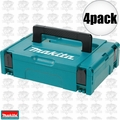 Makita 197210-9 4pk Interlocking Modular Tool Case (Small)