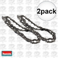 "Makita 531-291-646 2pk 12"" Replacement Chain HCU02ZX2 & HCU02C1 K17"