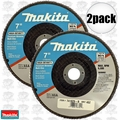 "Makita 741829-B 2pk 7"" Multi Disc 40 Grit"