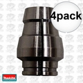 "Makita 763643-6 4x 1/2"" Replacement Router Collet Sleeve"